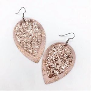 Rose Teardrop Earring